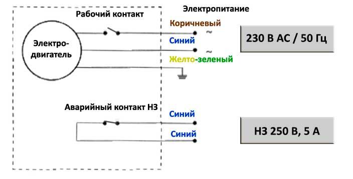 MPG | Схема электрического