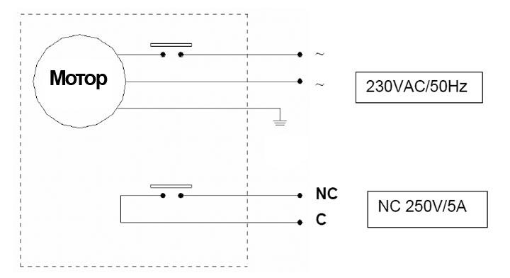 Дренажный насос GO500 | Схема